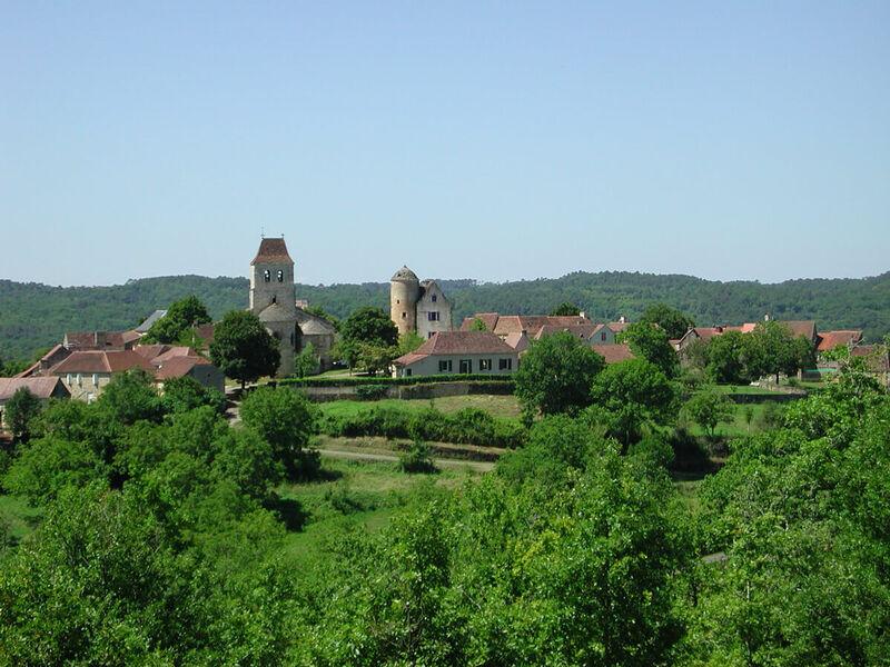 Vue du village des Arques